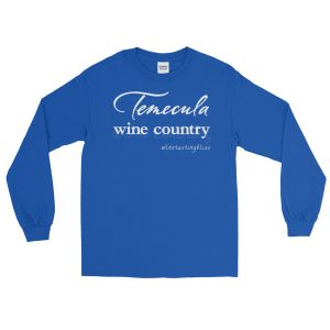 Temecula Wine Country Long Sleeve T-Shirt