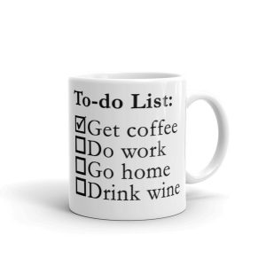 My To-do List Mug