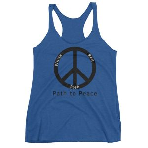 Path to Peace Women's Racerback Tank