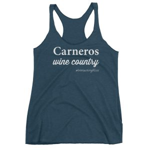Carneros Wine Country Women's Racerback Tank