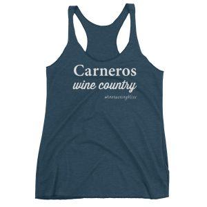 Carneros Wine Country Women's Racerback Tank