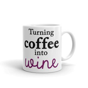 Turning coffee into wine Mug