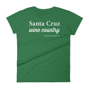 Santa Cruz Wine Country Women's short sleeve t-shirt