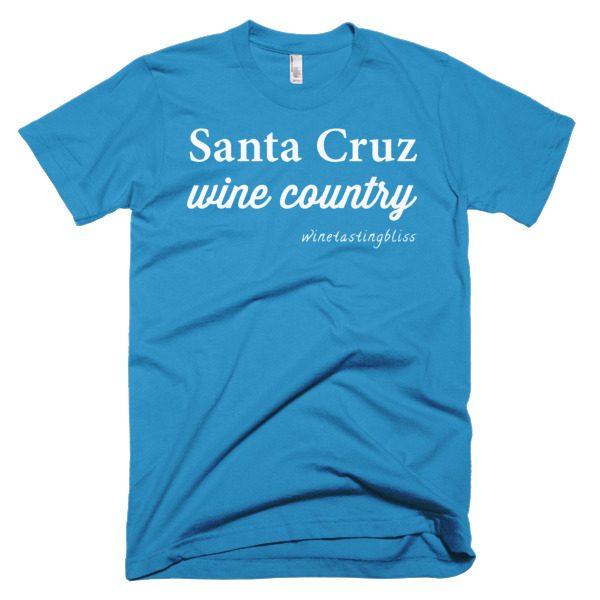 """Santa Cruz Wine Country"" Short-Sleeve T-Shirt"