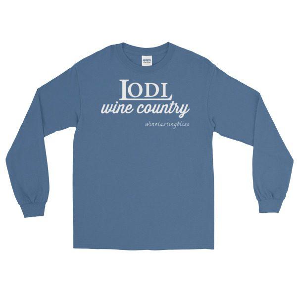 """Lodi Wine Country"" Long Sleeve T-Shirt"