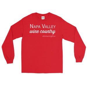 Napa Valley Wine Country Long Sleeve T-Shirt