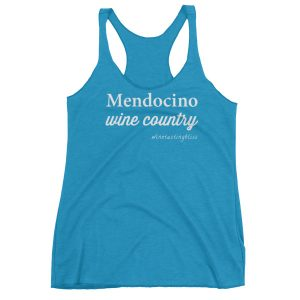 Mendocino Wine Country Women's Racerback Tank