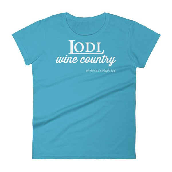 """Lodi Wine Country"" Women's short sleeve t-shirt"