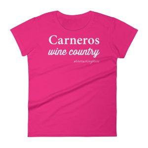 Carneros Wine Country Women's short sleeve t-shirt