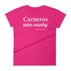 Carneros Wine Country Women's short sleeve t-shirt