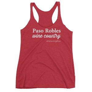 Paso Robles Wine Country Women's Racerback Tank