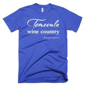 """Temecula Wine Country"" Short-Sleeve T-Shirt"