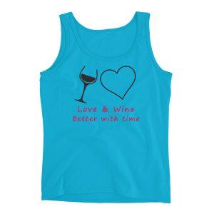 Love and Wine Ladies' Tank