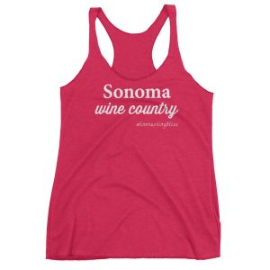 Sonoma Wine Country Women's Racerback Tank