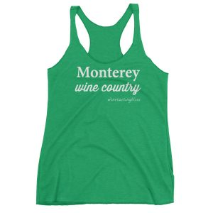 Monterey Wine Country Women's Racerback Tank
