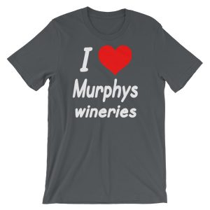 I HEART Murphys Wineries Short-Sleeve Unisex T-Shirt