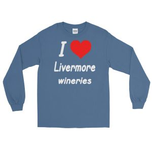 I HEART Livermore Wineries Long Sleeve T-Shirt