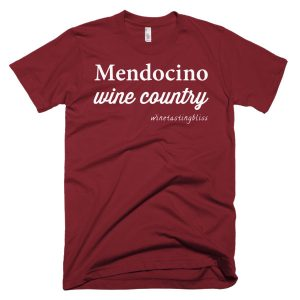 Mendocino Wine Country Short-Sleeve T-Shirt