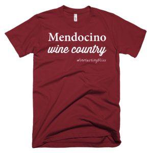 """Mendocino Wine Country"" Short-Sleeve T-Shirt"