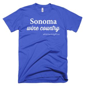 Sonoma Wine Country Short-Sleeve T-Shirt