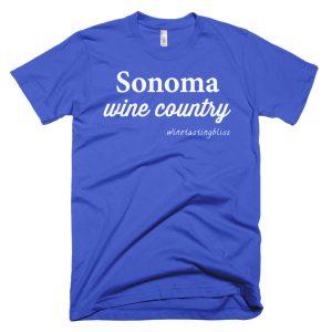 Sonoma Wine Country Short-Sleeve T-Shirt
