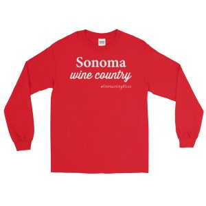 Sonoma Wine Country Long Sleeve T-Shirt