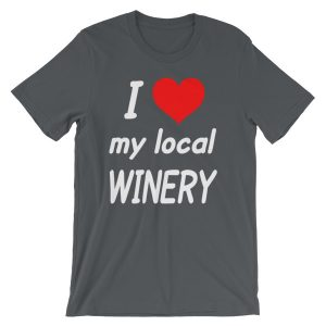I HEART My Local Winery Short-Sleeve Unisex T-Shirt