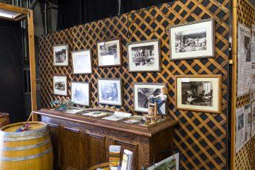 Eckert Estates photo wall