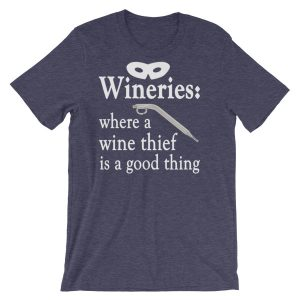 A Wine Thief Short-Sleeve Unisex T-Shirt