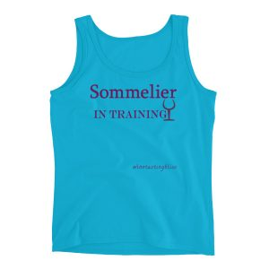 """Sommelier in training"" Ladies' Tank"