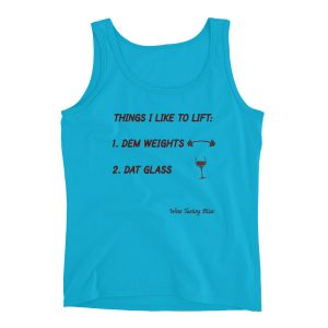 """Things I Like to Lift"" Ladies' Tank"