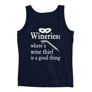 A Wine Thief Ladies' Tank