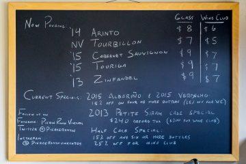 pierce ranch menu