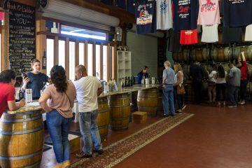 hook and ladder tasting room