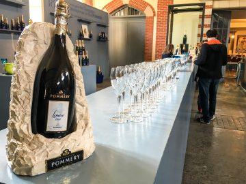champagne pommery tasting
