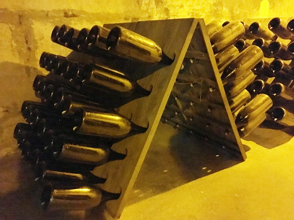 taittinger riddling rack