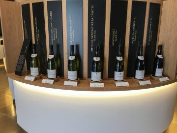 bouchard bottle display