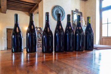 domaine newman wine bottles