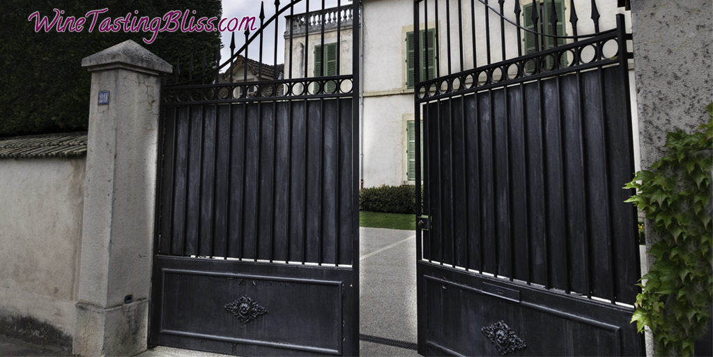 Behind the Gates at Domaine Newman