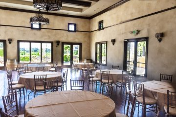 las positas vineyards party room