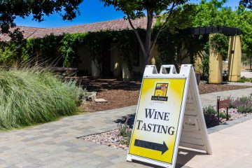 las positas vineyard signage