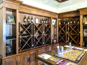 las positas vineyards wall display