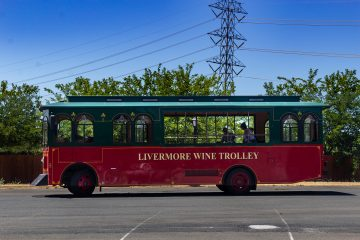 rios lovell winery trolley