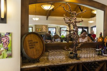 harney lane winery mirror