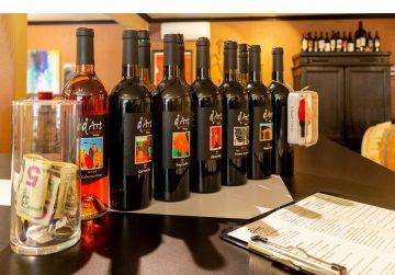 d'art wines bottles