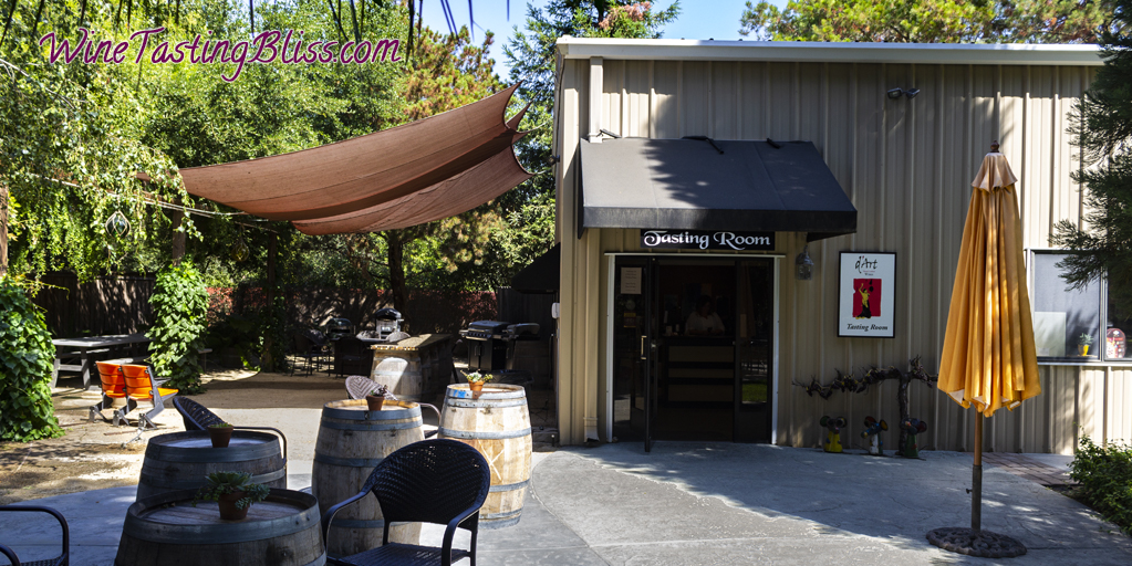 d'art wines entrance