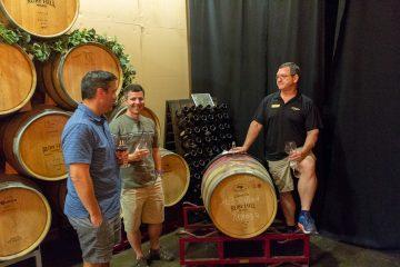 ruby hill winery barrel tasting