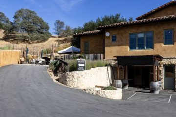 Aver family vineyards driveway