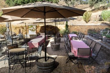 Aver family vineyards tables