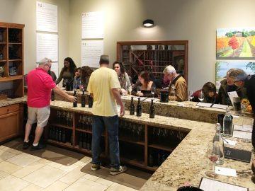 Dante Robere tasting room